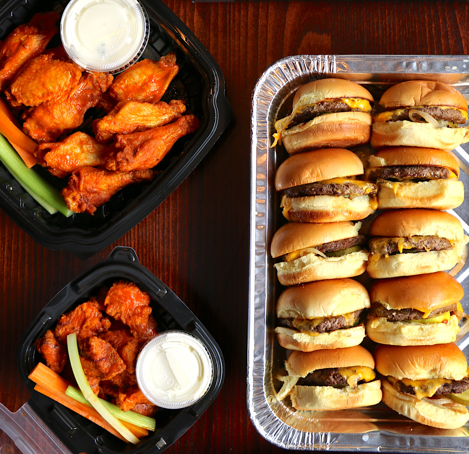 football tailgate to-go